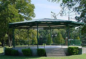 Gazebo at San Gabriel Park