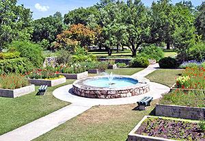 Flower Garden near San Gabriel Park