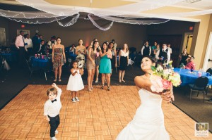 Bride's Bouquet Toss