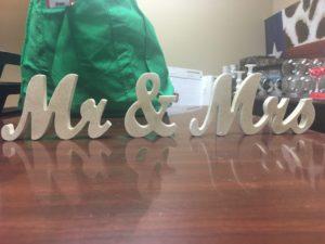 Mr&MrsGoldPieces - Wedding Decor
