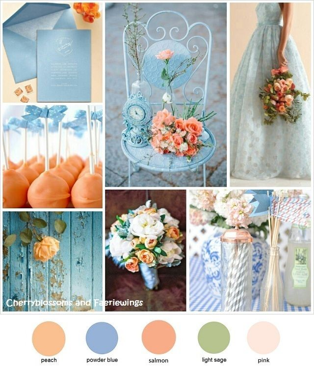 No Matter The Shade Of Blue You Choose It Will Look Great For Any Type Wedding Instance I Imagine A That Consist These Color Schemes